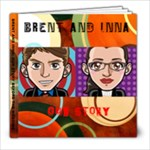 Brent and Inna: Our Story - 8x8 Photo Book (20 pages)
