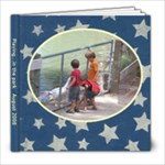 Playing in the Park - August 2008 - 8x8 Photo Book (20 pages)