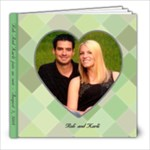 Rob and karli- 2 - 8x8 Photo Book (20 pages)