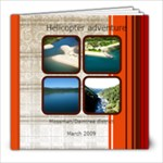 helicopter album - 8x8 Photo Book (20 pages)