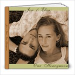 Honeymoon Album - 8x8 Photo Book (20 pages)