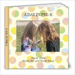 A day in Pre-K - 8x8 Photo Book (20 pages)