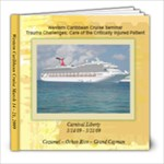 Cruise Album - Trauma Challenges Nursing Seminar - 8x8 Photo Book (20 pages)