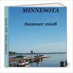 Minn Summer 2008 Final - 8x8 Photo Book (20 pages)
