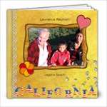 Lawrence Family Reunion 2009 - 8x8 Photo Book (20 pages)