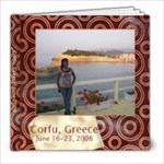 corfu, greece - 8x8 Photo Book (20 pages)
