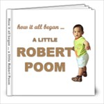 Pregnancy of Robert Poom - 8x8 Photo Book (30 pages)