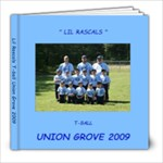 LIL Rascals t-ball book - 8x8 Photo Book (20 pages)