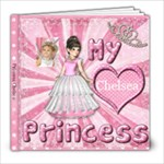 My Princess 8x8inch book - 8x8 Photo Book (20 pages)