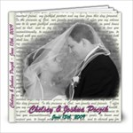 Josh and Chelsey s Wedding - 8x8 Photo Book (100 pages)