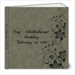 wedding 92 - 8x8 Photo Book (20 pages)