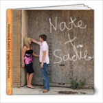 sadie and nate - 8x8 Photo Book (30 pages)
