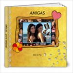 AMIGAS - 8x8 Photo Book (20 pages)