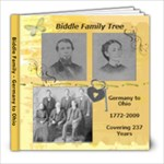 Biddle Family Book - 8x8 Photo Book (20 pages)