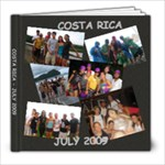 COSTA RICA 2009 - 8x8 Photo Book (30 pages)