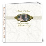 Ross & Maria s Wedding - 8x8 Photo Book (20 pages)