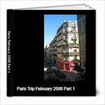 Paris Black Elegance - 8x8 Photo Book (20 pages)