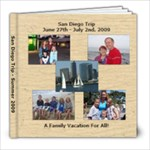 Mom & Dad San Diego - 8x8 Photo Book (100 pages)