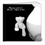 pregnancy pictures - 8x8 Photo Book (20 pages)