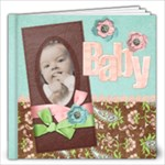 Pillaloo Album, baby theme - 12x12 Photo Book (20 pages)