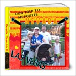 Las vegas & Mesquite trip - 8x8 Photo Book (20 pages)