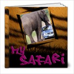 Safari 8x8 - 8x8 Photo Book (20 pages)