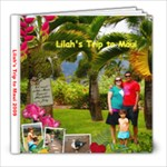 Summer Fun with Lilah - 8x8 Photo Book (20 pages)