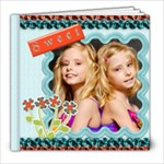 Sweet & Sassy Quickpage book - 8x8 Photo Book (20 pages)