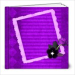 purple book - 8x8 Photo Book (20 pages)