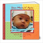 Djuan Baptism - 8x8 Photo Book (39 pages)