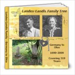 Landes-Landis Family Book - 8x8 Photo Book (60 pages)