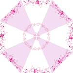 Funky Fushia Umbrella - Folding Umbrella