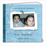 Lance and Hannah s Guest Book - 8x8 Photo Book (20 pages)