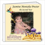 Jasmine s First Year - 8x8 Photo Book (39 pages)