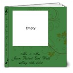 Watts Wedding Album - 8x8 Photo Book (20 pages)