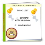 Cooking With Grandma - 8x8 Photo Book (20 pages)