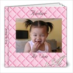 amber year 2 - 8x8 Photo Book (60 pages)