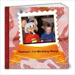 Boys  Birthday 2009 - 8x8 Photo Book (20 pages)