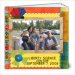 liberty Science center - 8x8 Photo Book (20 pages)