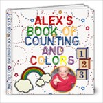 Alex s Book of Counting and Colors - 8x8 Photo Book (20 pages)