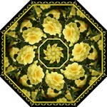 yellow rose2  umbrella - Folding Umbrella