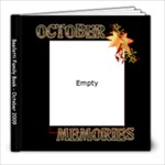 October Basiletti Book - 8x8 Photo Book (20 pages)