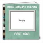 Ridge s 1st - 8x8 Photo Book (20 pages)