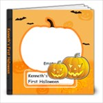 Kenneth s First Halloween - 8x8 Photo Book (39 pages)