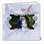 The Marriage of Andrew and Stephanie - 8x8 Photo Book (20 pages)