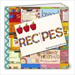 Digitreats Recipes1 - 8x8 Photo Book (20 pages)
