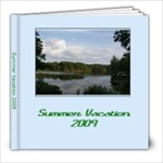 summer vacation 2009 - 8x8 Photo Book (20 pages)
