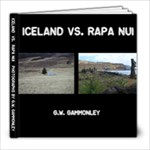 ISLAND VS EASTER ISLAND - 8x8 Photo Book (20 pages)