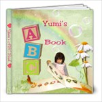 Yumi s ABC Book - 8x8 Photo Book (20 pages)