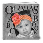 Olivia - 8x8 Photo Book (20 pages)